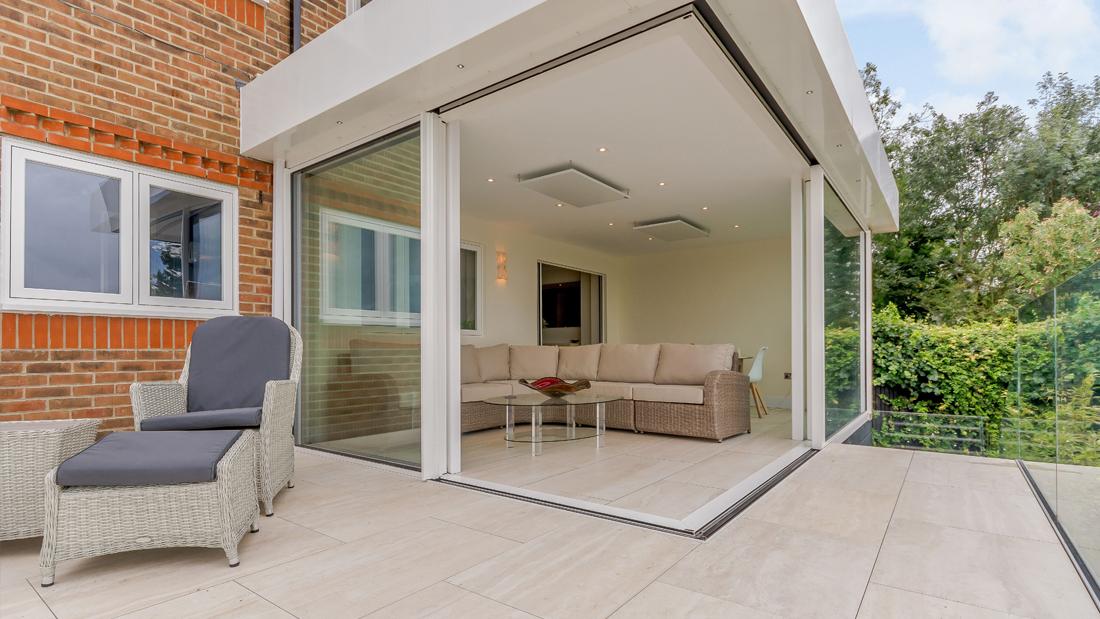Matching Indoor and Outdoor Tiles